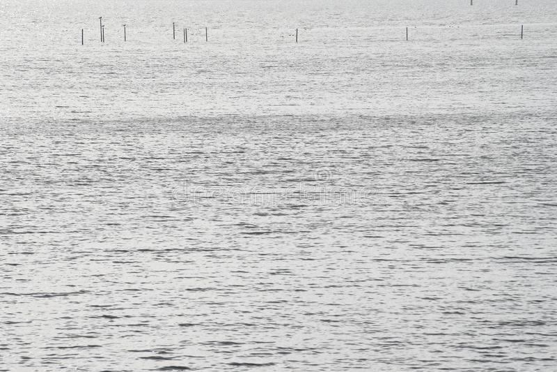 Trampas en el mar imagen de archivo