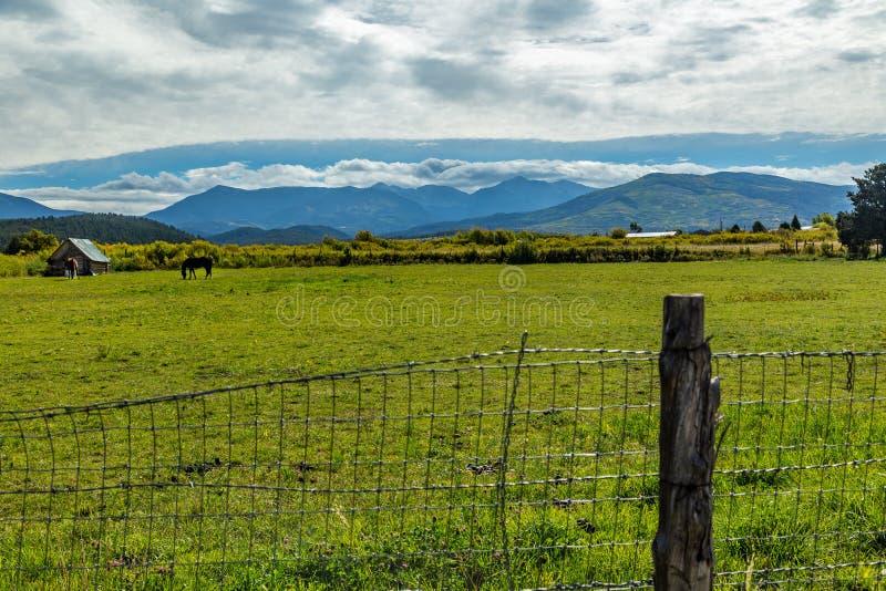 Trampas Peak op de Hoge Weg aan Taos royalty-vrije stock afbeeldingen