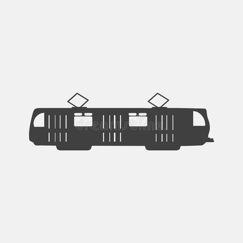 Trampictogram royalty-vrije illustratie