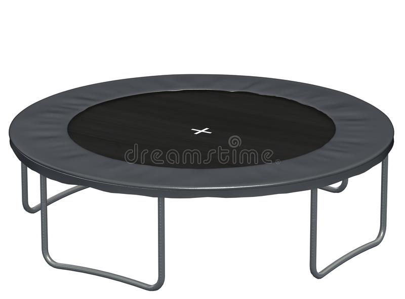 Download Trampoline stock illustration. Image of sport, steel - 13249156
