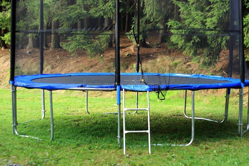 Trampoline stock fotografie