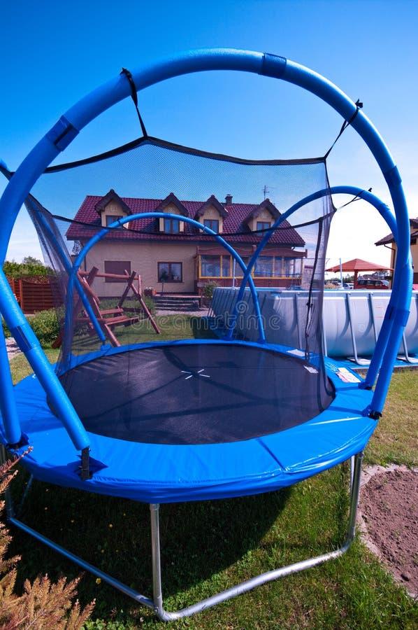 trampoline arkivbilder