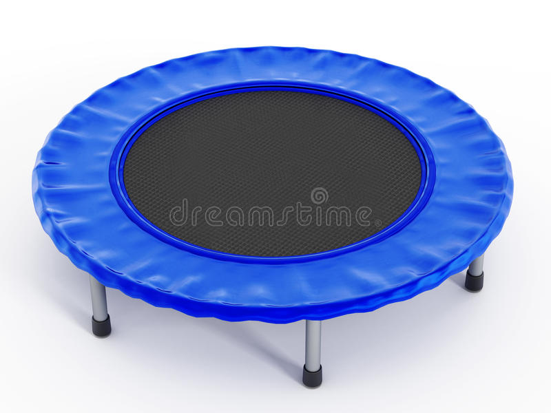 trampoline stock afbeelding