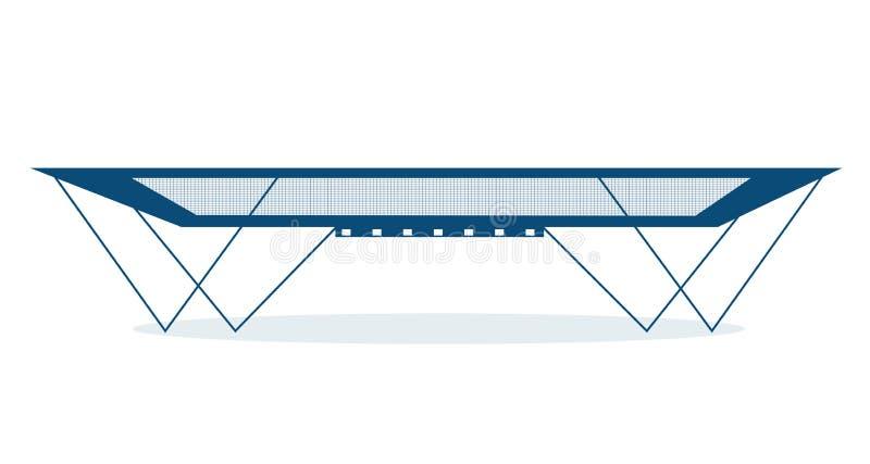 trampoline illustrazione di stock