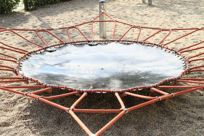 trampoline royalty-vrije stock fotografie