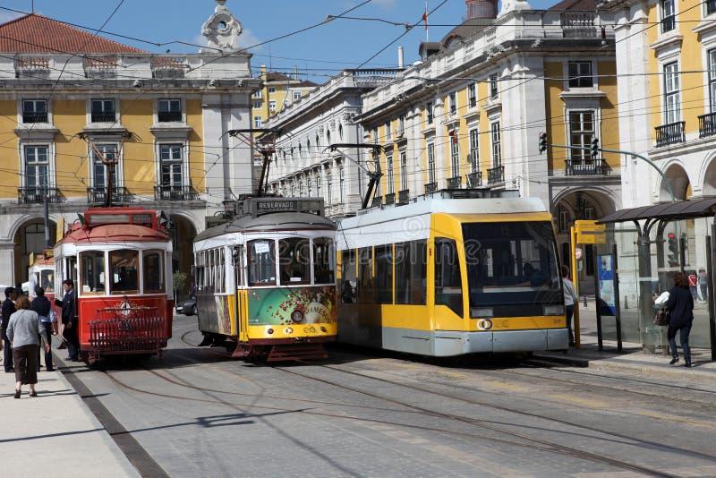 tramwaje zdjęcie royalty free