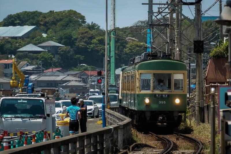 Tramwaje w Kamakura obraz stock