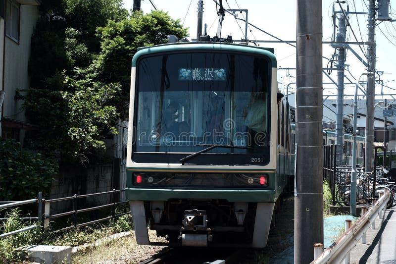 Tramwaje w Kamakura zdjęcia stock