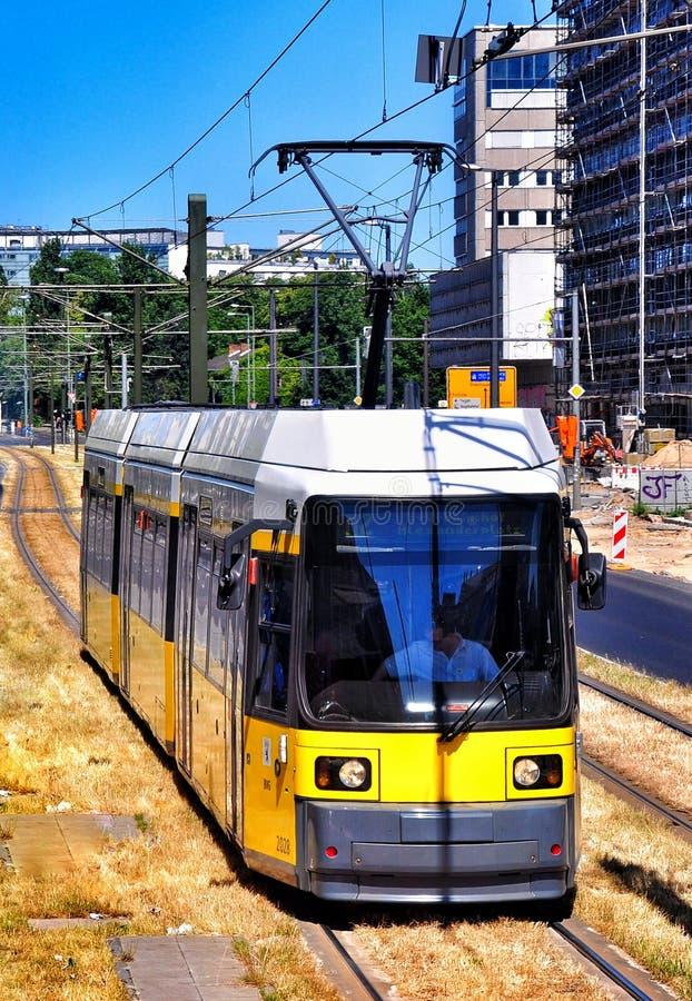 Tramway à Berlin photo libre de droits