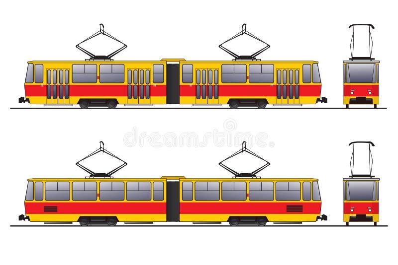 Tramway illustration stock