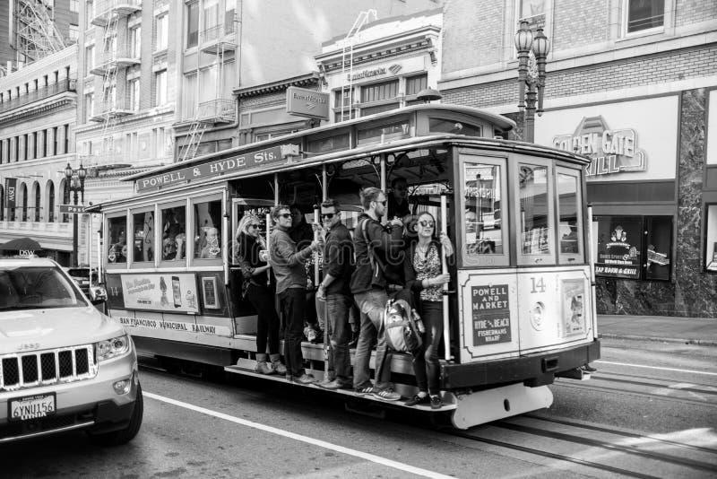 Tramway d'Airial de la porte de l'enfer photos stock