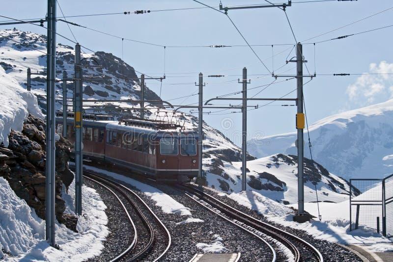 Tramway de Matterhorn image libre de droits