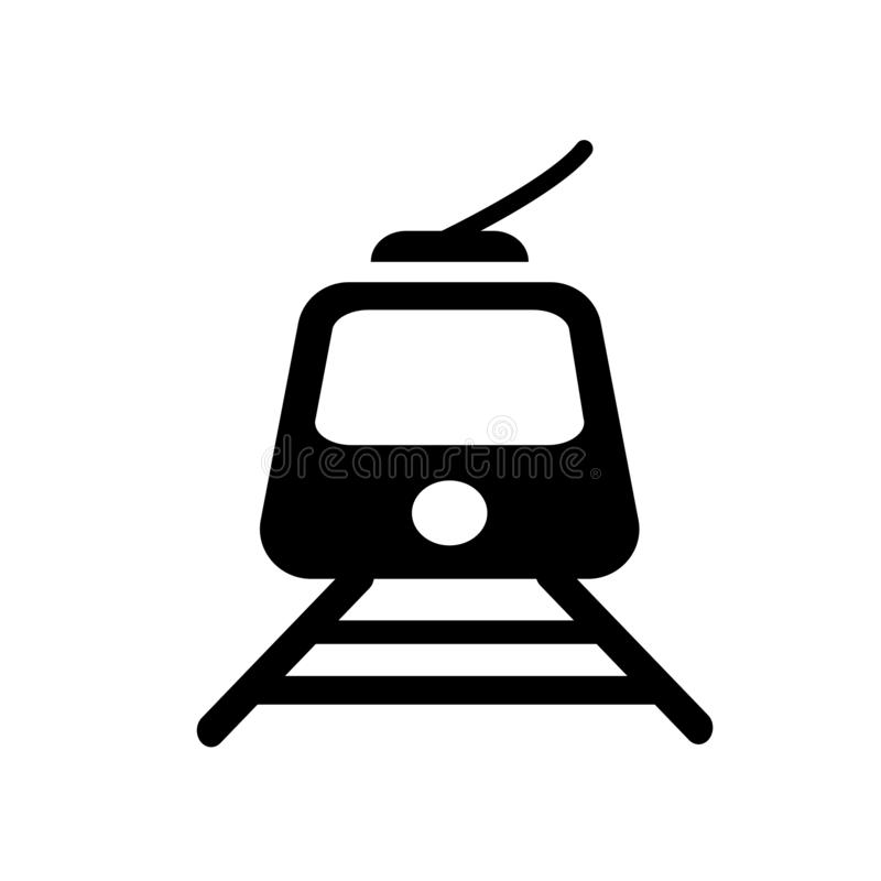 Tramway icon. Trendy Tramway logo concept on white background fr. Om Transportation collection. Suitable for use on web apps, mobile apps and print media vector illustration