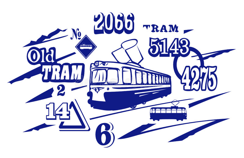 Download Tramway Illustration. JPG And EPS Stock Images - Image: 1071074