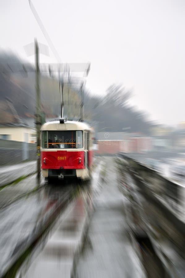 Tramway in Kiev, Ukraine royalty free stock image