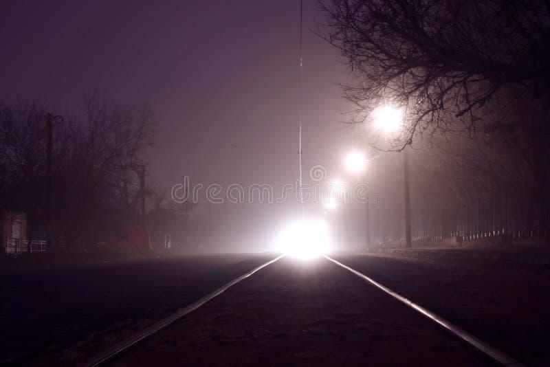Download Tramway at night stock photo. Image of scenery, tramway - 36258978