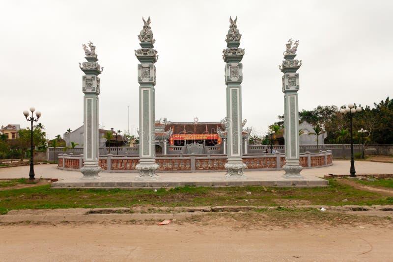 Tran świątynia zdjęcie royalty free