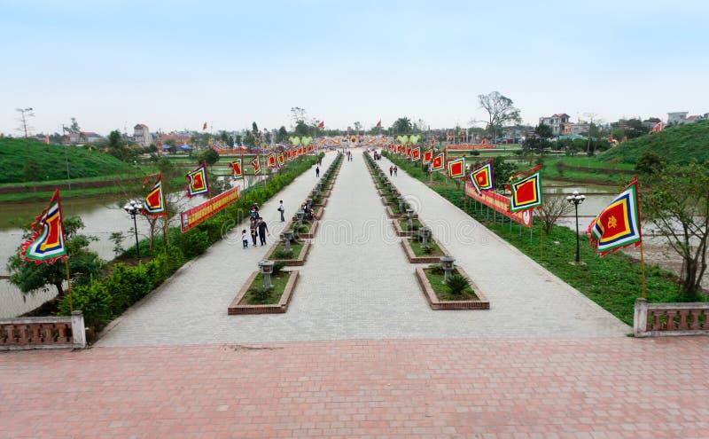 Tran świątynia obrazy royalty free