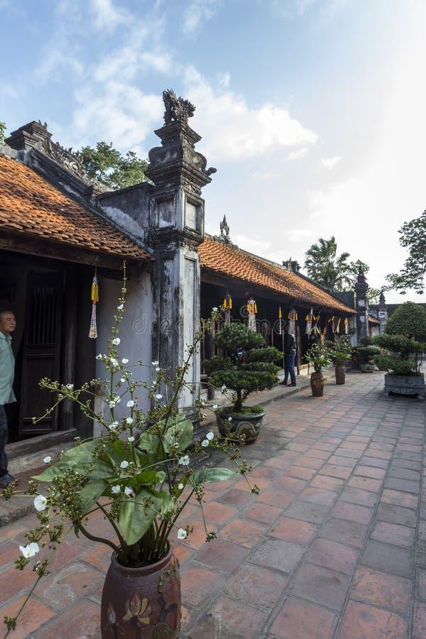 Tran Hung Dao Temple royalty-vrije stock fotografie