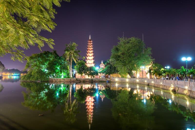 Tran Quoc Pagoda photo stock