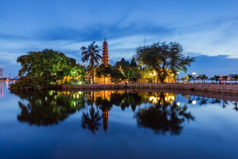 Tran Quoc Pagoda fotografie stock