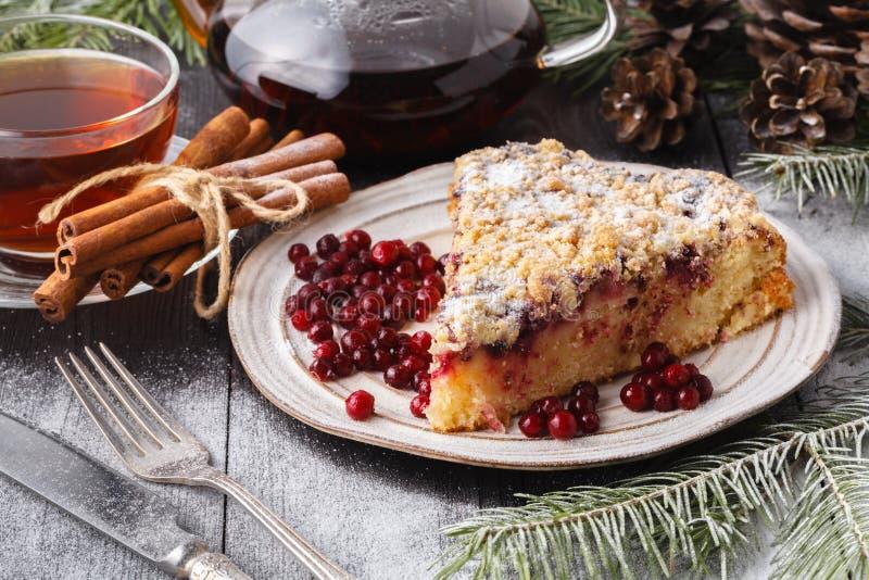 Tranbärkaka för jul och nytt år Cristmas bröd royaltyfria bilder