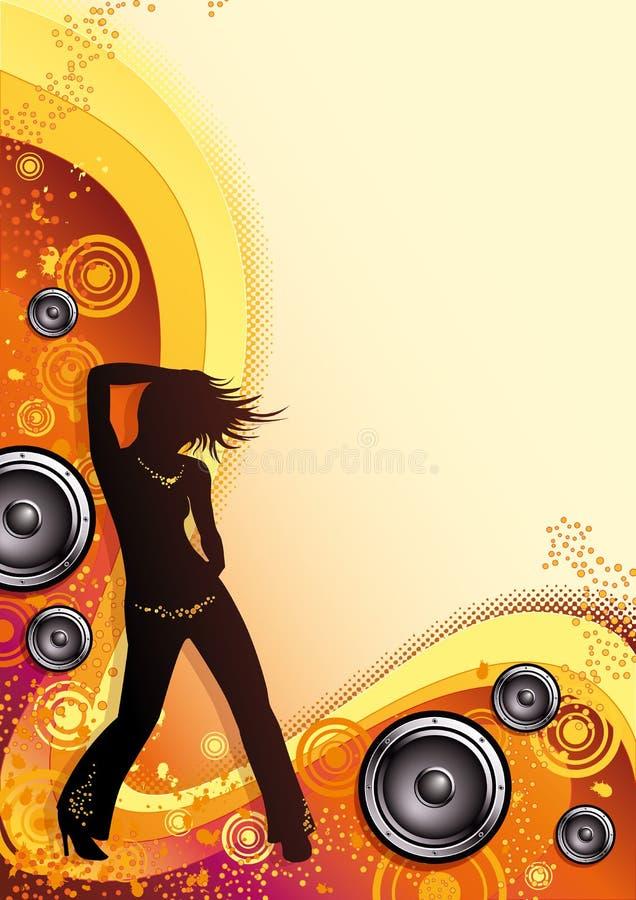 trance лета иллюстрация вектора