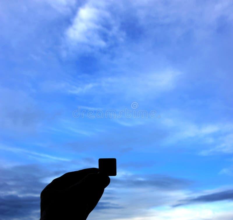 Tranche de ciel photos stock