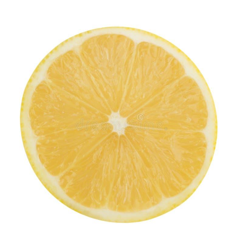 Tranche de citron image stock