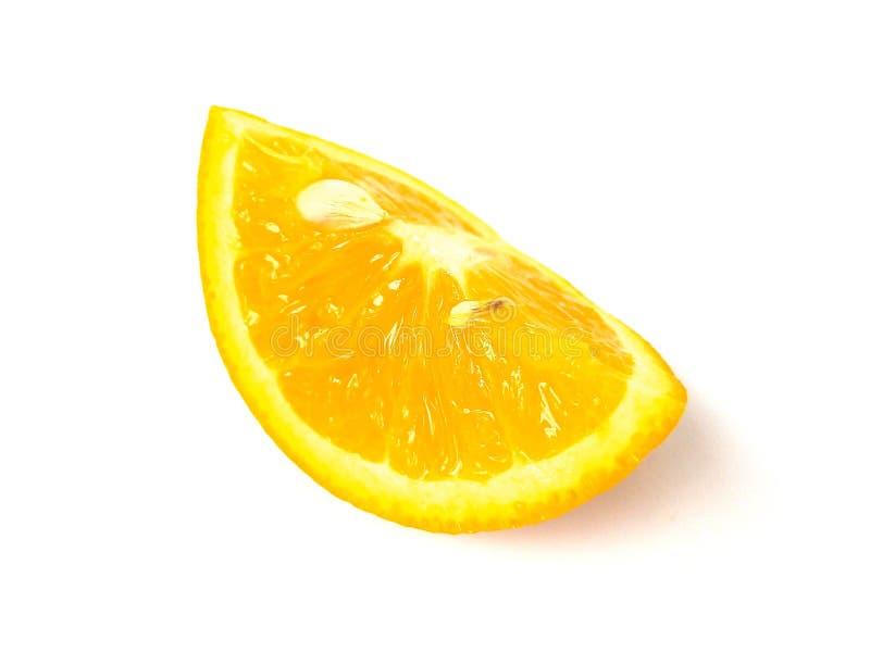 Tranche de fruit d'orange douce photographie stock