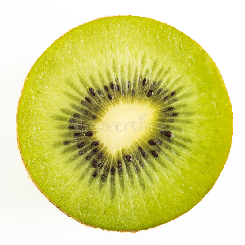 Tranche de kiwi photo stock