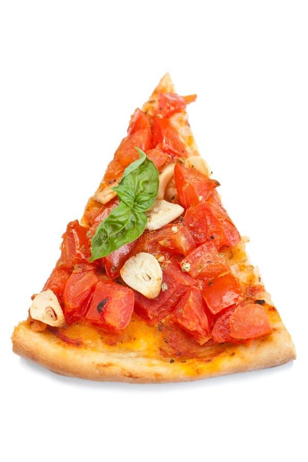 Tranche de marinara d'alla de pizza photo libre de droits