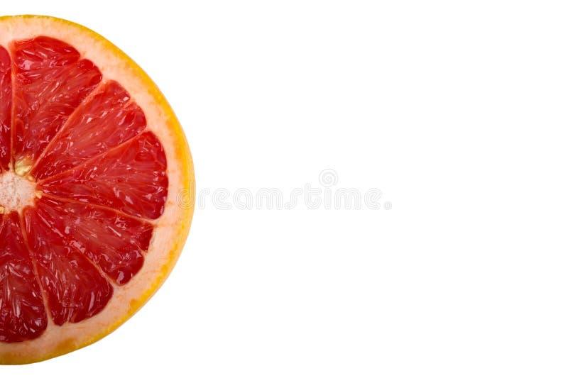 Tranche ronde de fruit frais photographie stock