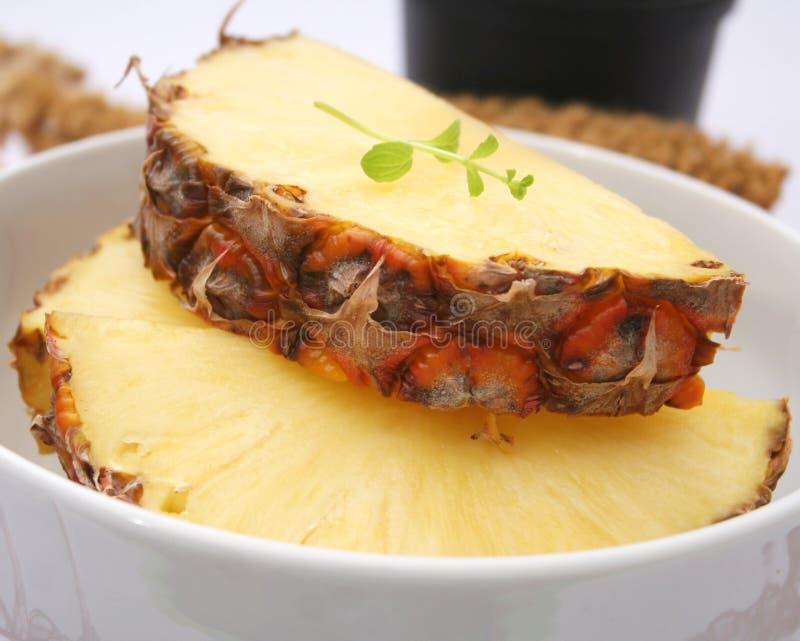 Tranches d'ananas photo libre de droits