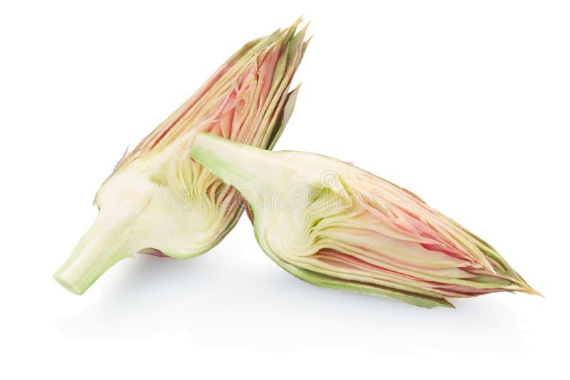 Tranches d'artichaut images stock