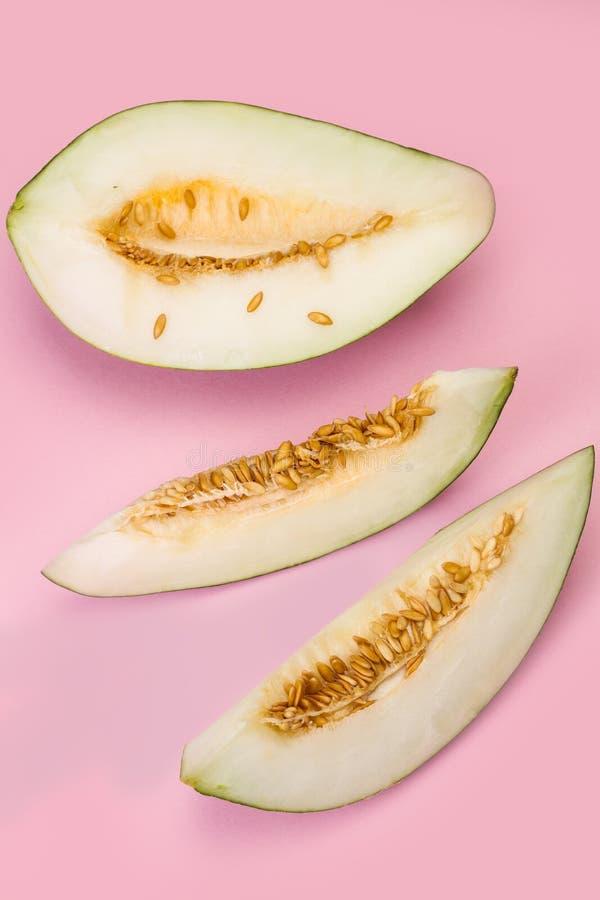 Tranches de melon photos libres de droits