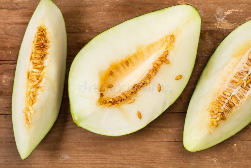 Tranches de melon image libre de droits