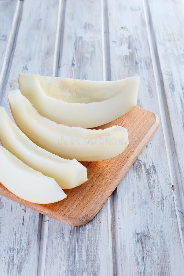 Tranches de melon juteux photo libre de droits