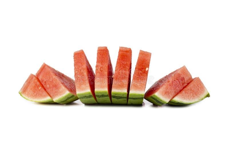 Tranches de pastèques photographie stock libre de droits