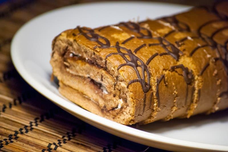 Tranches de petit pain de baie de plat et de céréale image libre de droits