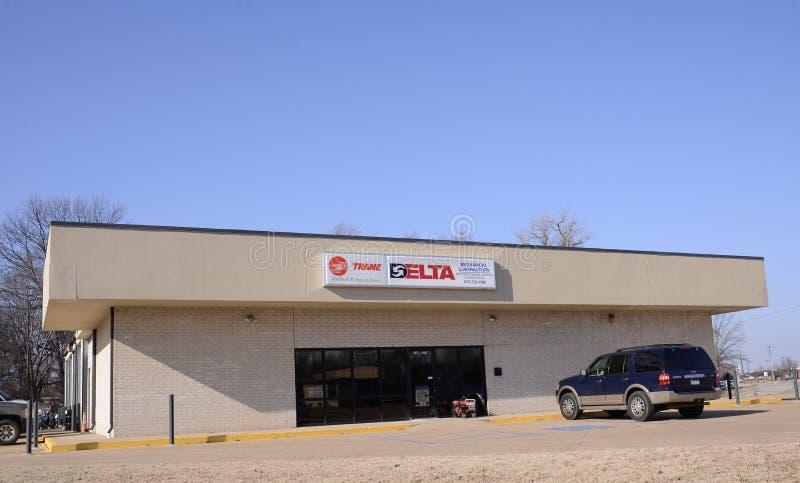 Trane en Delta Supply Company royalty-vrije stock fotografie