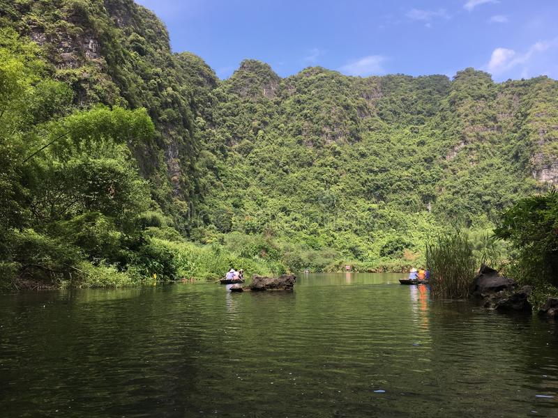 Trang风景复合体,越南 库存图片