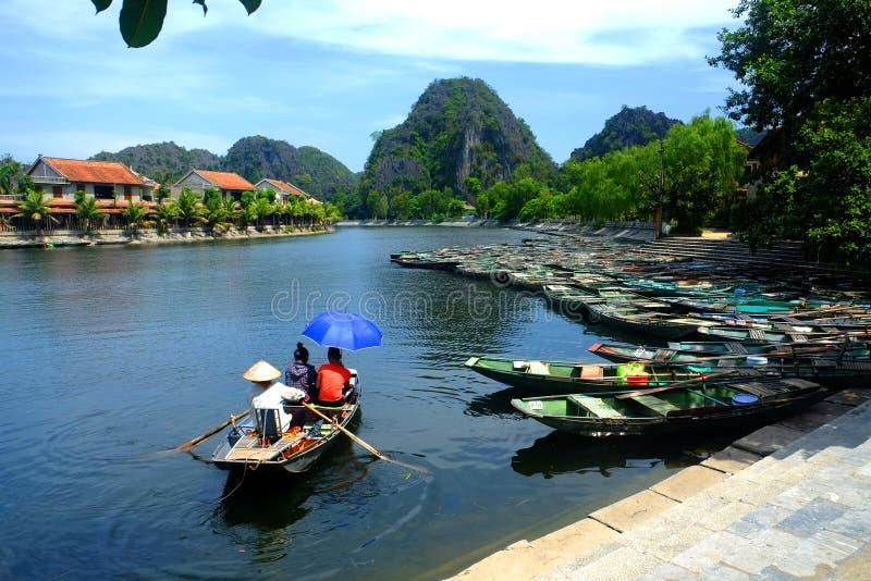Trang - Ninh Binh - Viet Nam imágenes de archivo libres de regalías