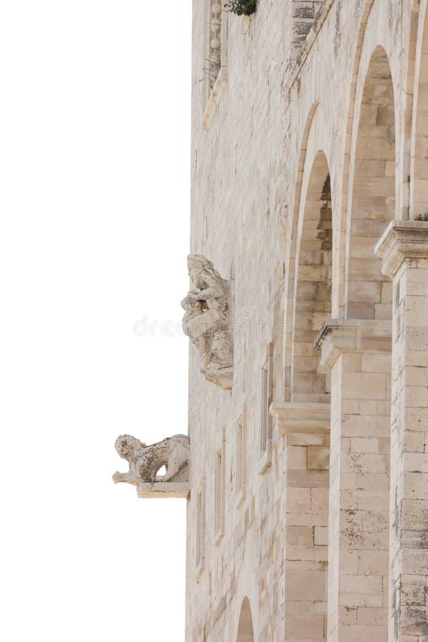 Trani大教堂 免版税图库摄影