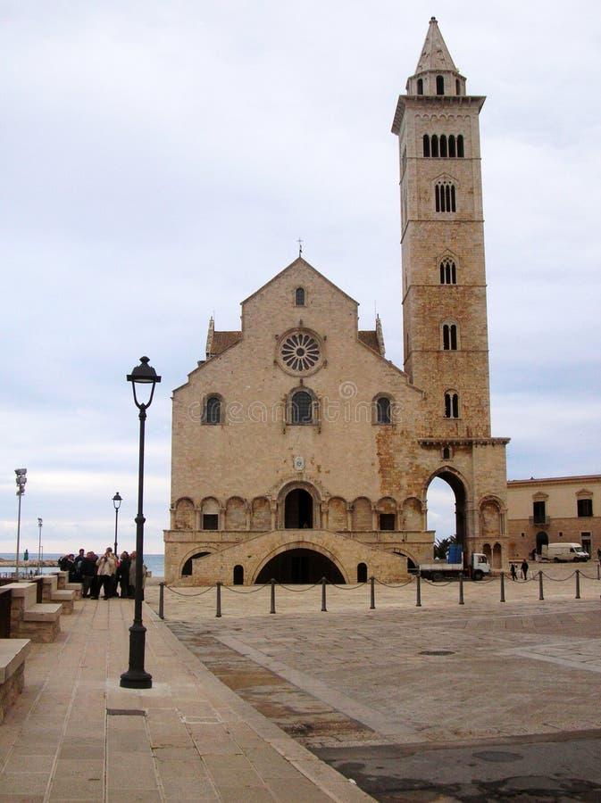 trani καθεδρικών ναών στοκ εικόνες