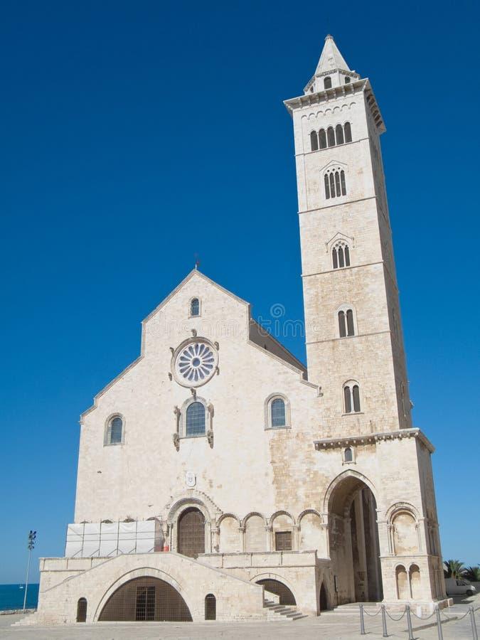trani καθεδρικών ναών apulia στοκ εικόνα
