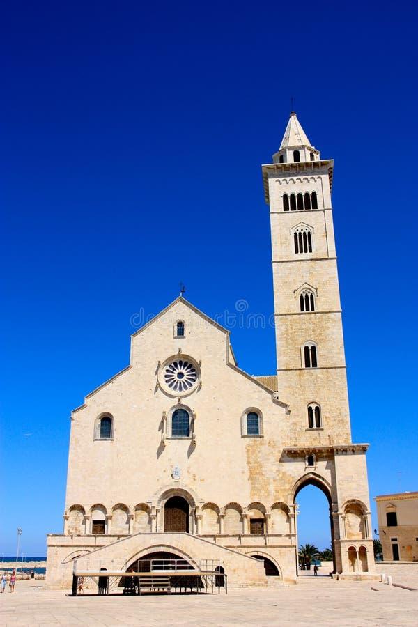 Trani cathedral, Apulia, Italy stock photos