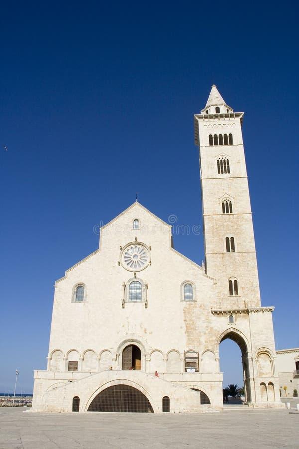 Trani Kathedrale stockfotos