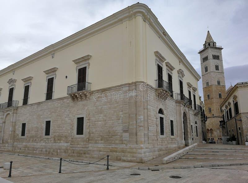 Trani - Palazzo Valenzano fotografie stock libere da diritti