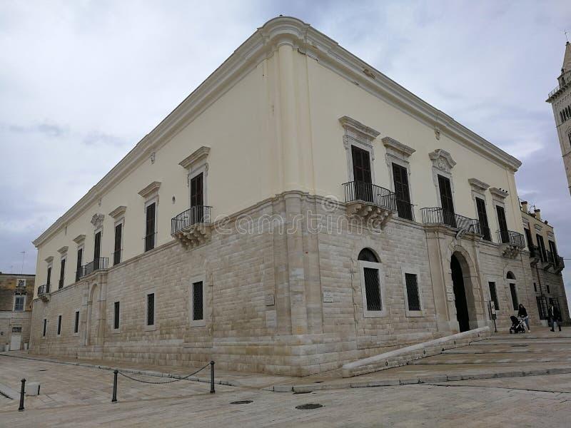 Trani - Palazzo Valenzano fotografia stock libera da diritti